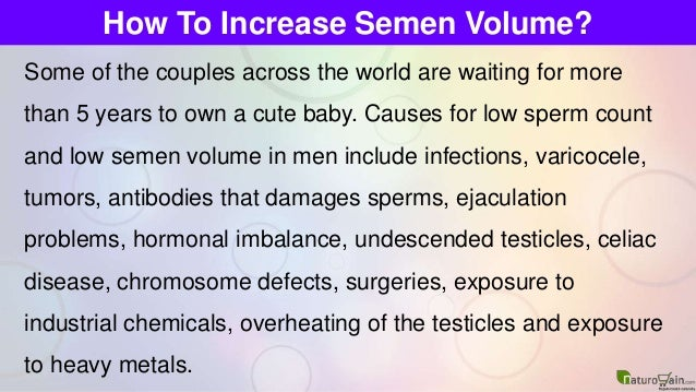 Super Foods That Increase Sperm Count:
