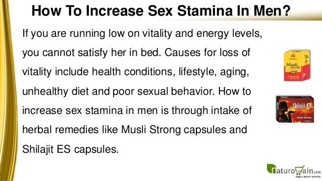 Best way to build stamina in bed