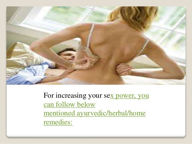Increasing Sex Power 84