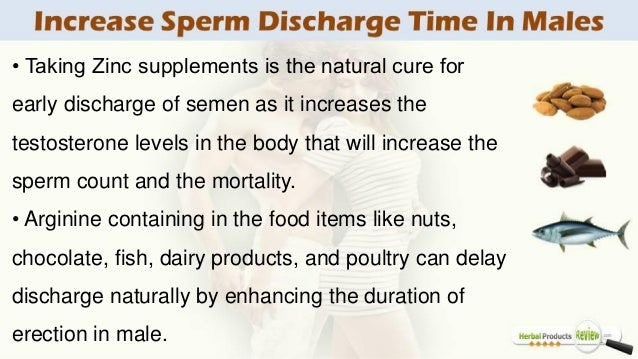 How To Increase Sperm Discharge Time In Males Using Herbal Remedies