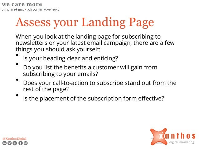 How to Increase Subscribers to Your Newsletter and Email Marketing Campaigns Slide 3