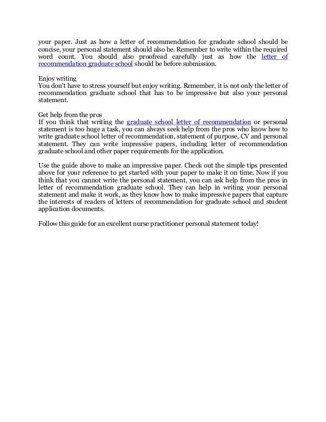 letter of recommendation for nursing school - Vatoz.atozdevelopment.co
