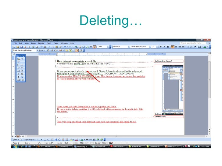 how to add comments to a word document