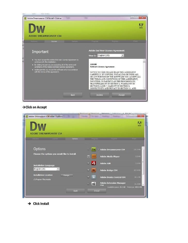 Dreamweaver Offline Installer
