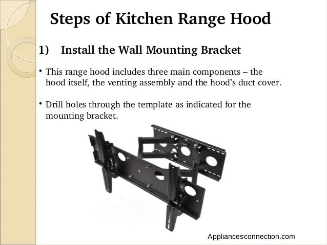 How To Install A Kitchen Range Hood