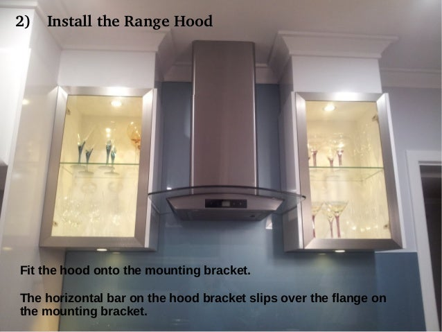 Appliancesconnection.com; 4. 2) Install The Range Hood Fit The ...