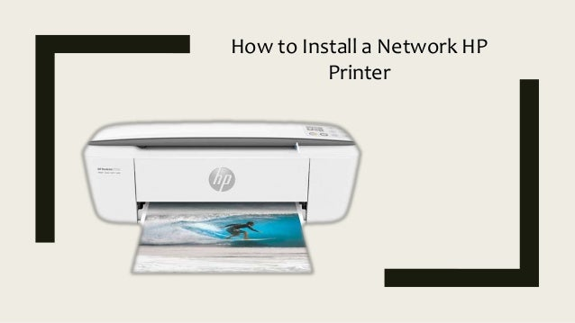 How to Install a Network HP Printer