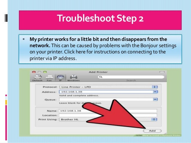 How to Install a Network in Xerox Printer?