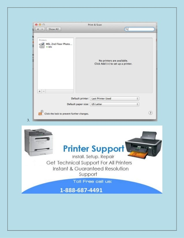 How to install a network printer in mac os x 8886874491