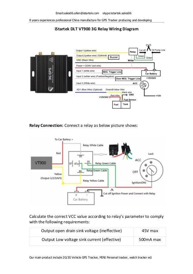 How To Install A Relay Rh Slideshare Car Gps Tracker Chip: Gps Tracker Wiring Diagram At Eklablog.co