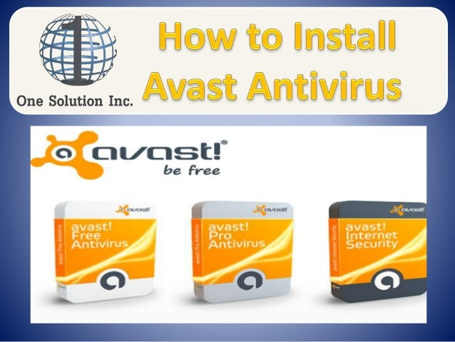 how to install avast without internet