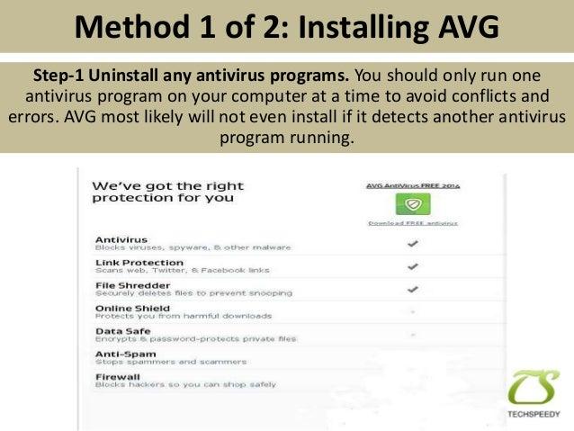 How to Install AVG Antivirus