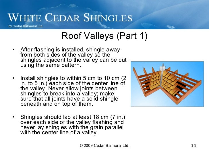How To Install Cedar Shingles – How To Install Roof Shingles In A Valley