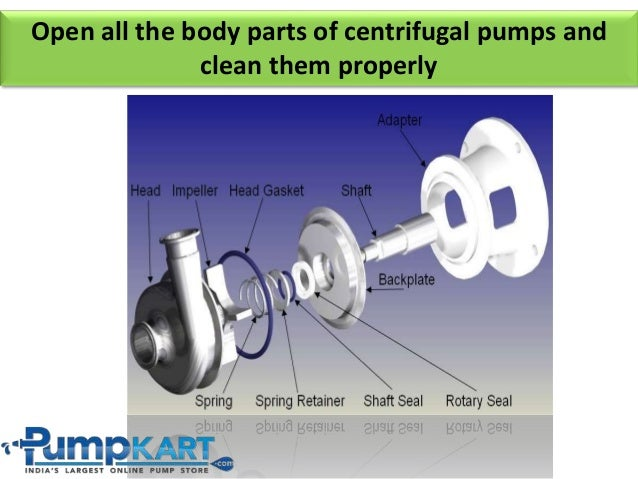 How to install centrifugal water pump