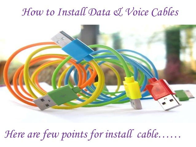 Voice and data cabling meets the demands of business how to install data voice cables here are few points for install cable publicscrutiny Image collections