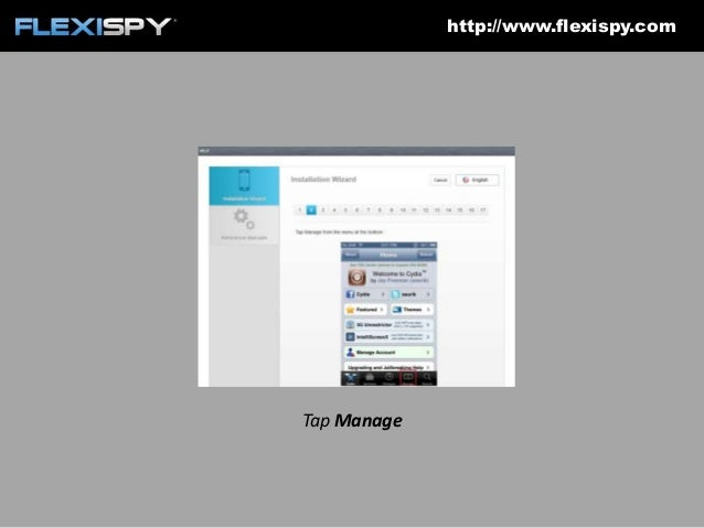 How to install FlexiSPY on to an iPhone