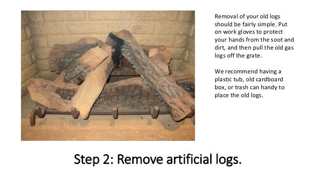 3. - How To Install Gas Fireplace Logs