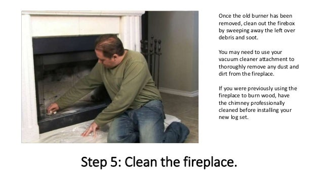 6. - How To Install Gas Fireplace Logs