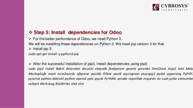 How to Install Odoo 11 on Ubuntu 16 04?