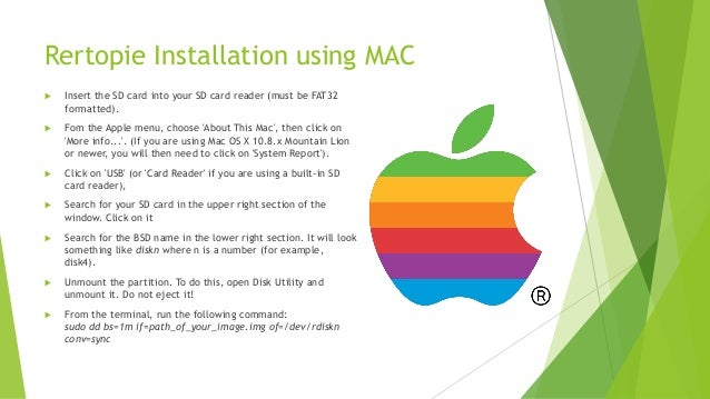 How to install Retropie on a Raspberry Pi device