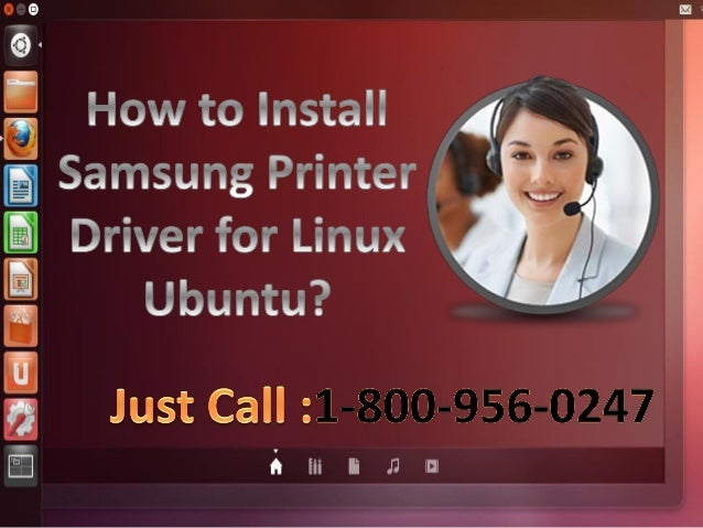 How To Install Samsung Printer Driver In Linux