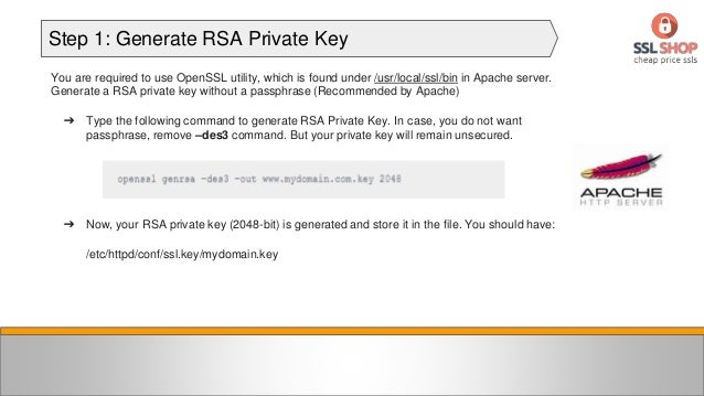 How to install SSL Certificate on Apache Server