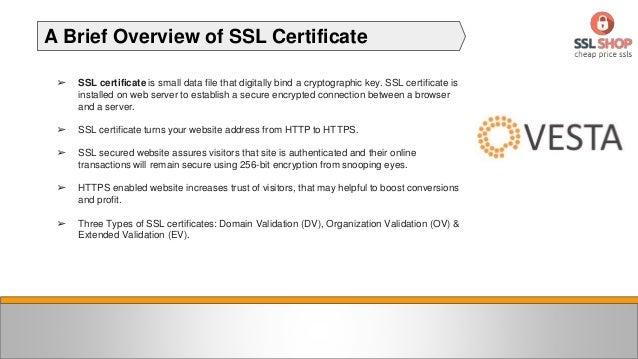 How to Install SSL Certificate on Vesta Control Panel Slide 2