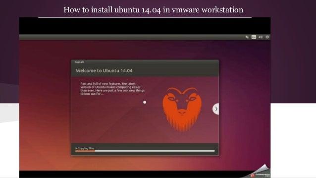 Image result for VMware Workstation Ubuntu