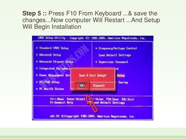 How to install windows 7 from usb pen drive