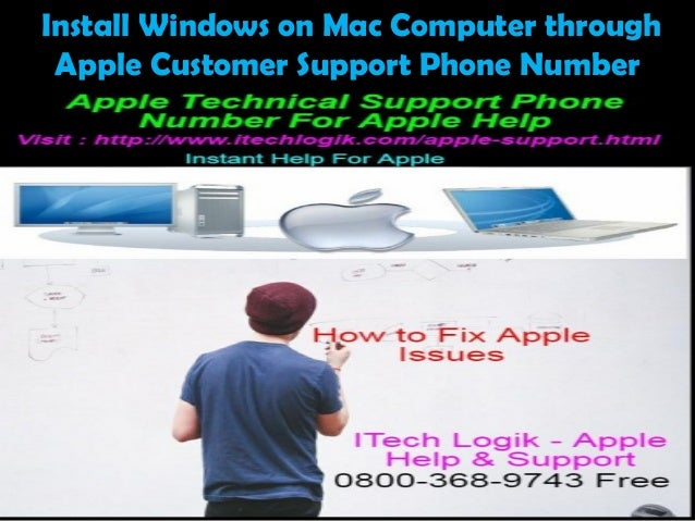 Install Windows on Mac Computer through Apple Customer Support Phone Number