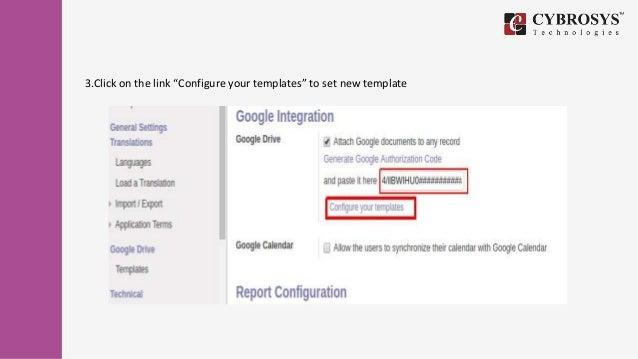 How to integrate google drive with odoo