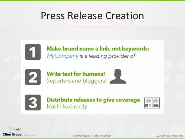 Press Release Creation