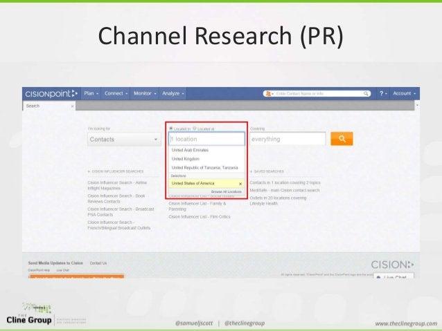 Channel Research (PR)