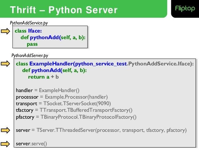 how to build python api