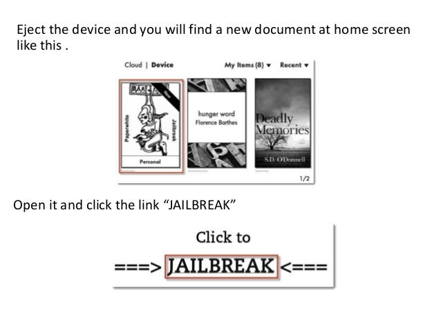 How to jailbreak kindle paperwhite