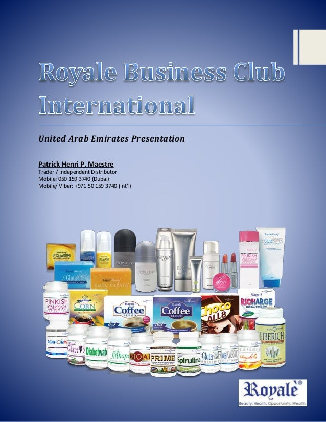 How to join royale (uae presentation)