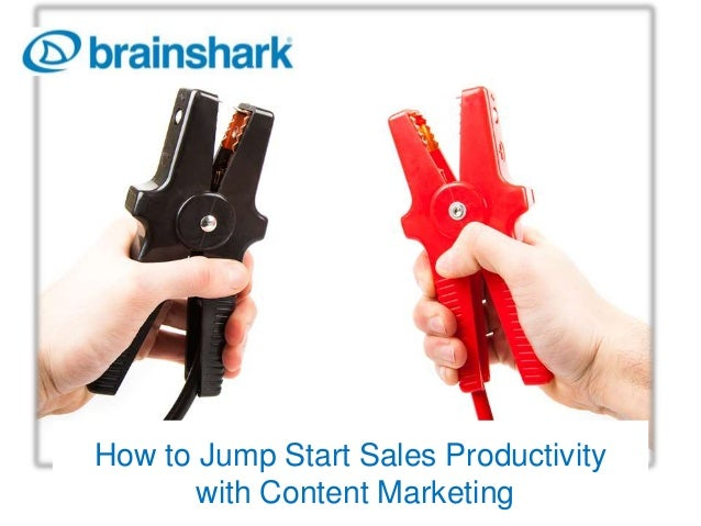How to Jump Start Sales Productivity with Content Marketing