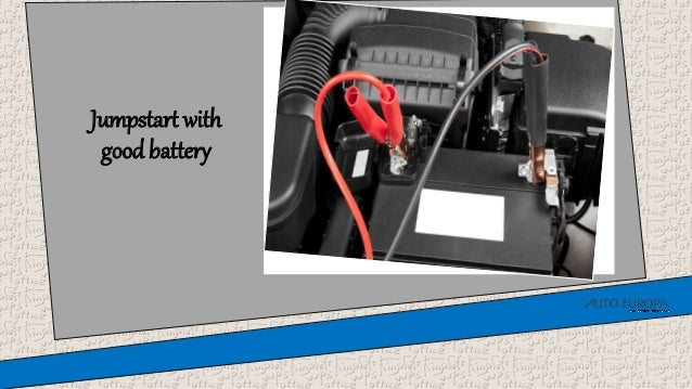 Can You Jumpstart A Car With A Bad Alternator >> How To Jumpstart The Car With A Bad Alternator