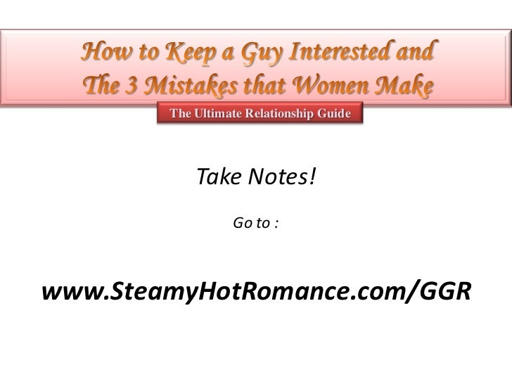How to make a guy notice you
