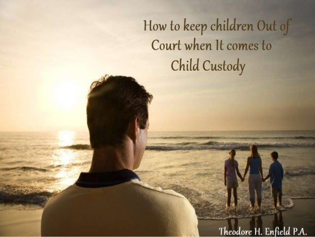 The last thing any child needs, and the thing that children of divorcing couples usually fear the most, is being offered t...