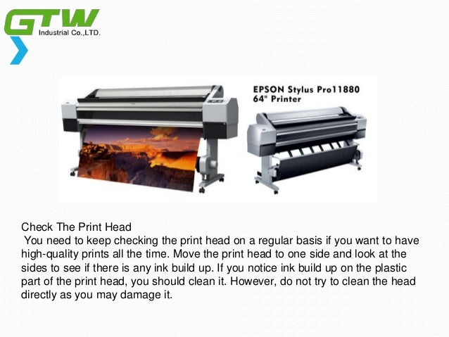How to Keep Your Dye Sublimation Printer be a Suitable One? Slide 3