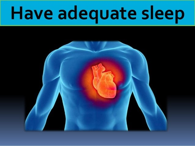 In the study, researchers found out that enough sleep is good for the flow of blood after a long day of activities. Get en...