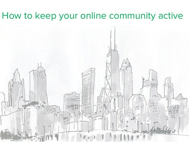 How to keep your online community active