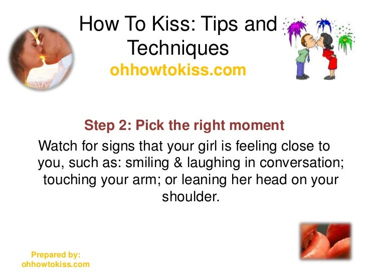 By Tongue Step To Kiss Step How