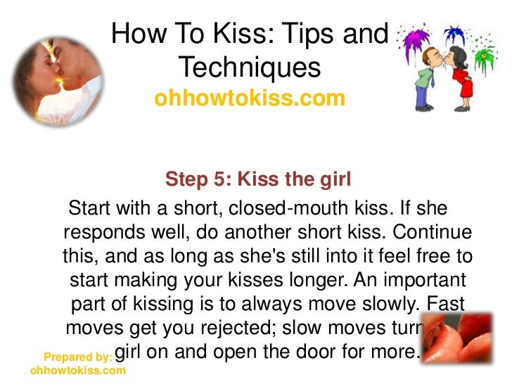 Kiss Girl A To In Lips How