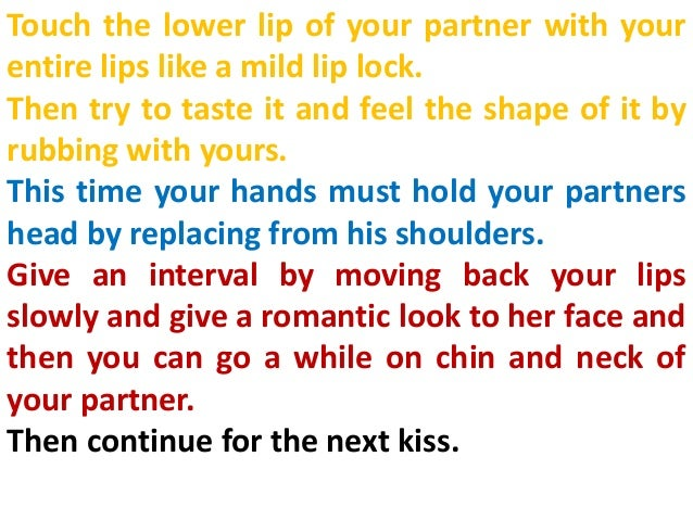 How To Kiss Your Gf For The First Time