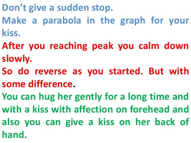 What To Do Before You Kiss A Girl