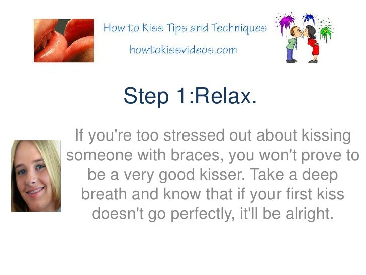 steps on how to kiss a guy