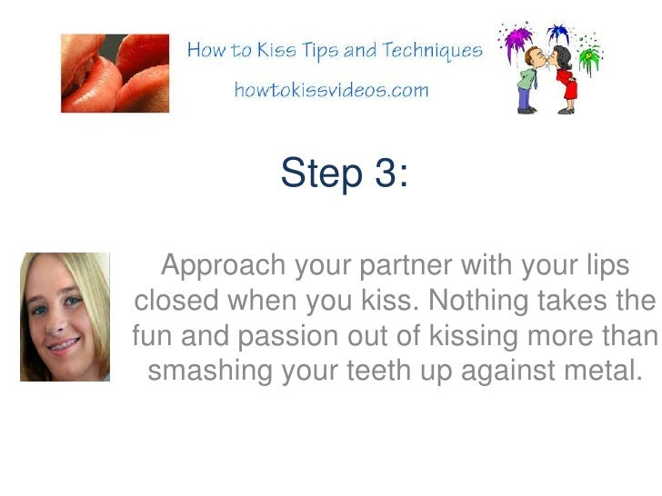 How To Makeout With A Chap Step By Step