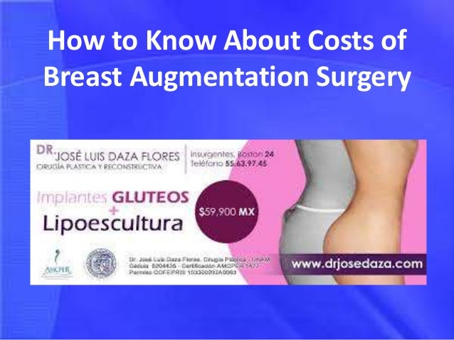 What is the cost of breast augmentation